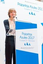 Ministra Isabel Garcia Tejerina Pajaritas Azules 2017.jpg